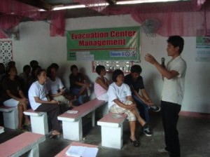 CDRC Evacuation Center Management for Mayon citizens