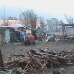 Supertyphoon Juan (Megi) traversing Philippines with casualties and damages