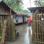 30 houses in North Cotabato, swept away by floods due to heavy rain brought by Typhoon Ofel