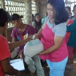 Photo Gallery: Relief distribution in Magallon, Negros Occidental
