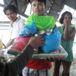 Photo Gallery: Relief distribution in Tudila and Basa