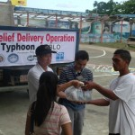 Photo Gallery: Relief distribution in Pook, Negros Occidental